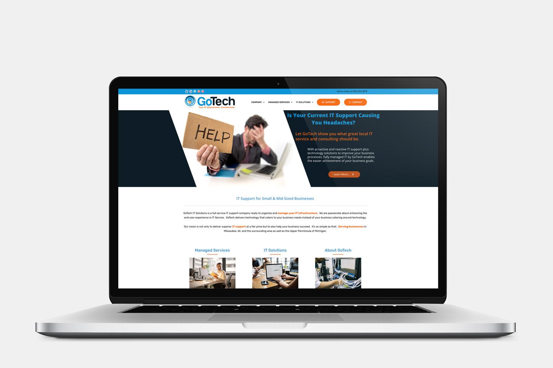 GoTech IT Solutions Website